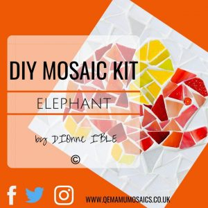 DIY Elephant Mosaic Kit